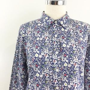 """Liberty Art """"June's Meadow"""" perfect Button up"""